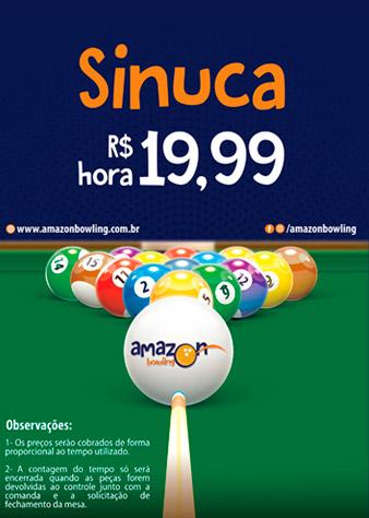 Sinuca - Amazon Bowling